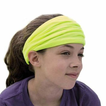 Cotton Fashion Baby Kids Girs Boys Hair Accessory Elasticity Wide Ribbon Headband Hair Band Bandanas acessorio de cabelo 10