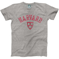 Harvard Team Vintage T-shirt (Heather Grey)
