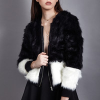 Milan Faux Fur Coat