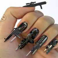 Gun Finger Nails | Incredible Things
