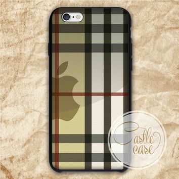 Burberry Inspired iPhone 4/4S, 5/5S, 5C Series, Samsung Galaxy S3, Samsung Galaxy S4, Samsung Galaxy S5 - Hard Plastic, Rubber Case
