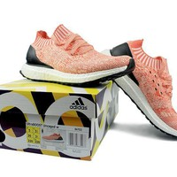 """Ready Stock"" Adidas Ultra Boost Uncaged ¡°Coral¡± Women Sneaker"