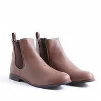 Missguided - Pattricia Chelsea Boots In Brown