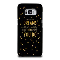 KATE SPADE QUOTE Samsung Galaxy S8 Case Cover