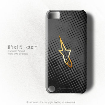 Alpinestars Grunge Protective Gear Jersey Ipod 5 Touch Case