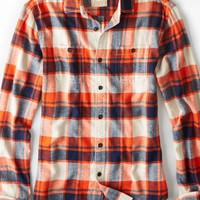 AEO 's Heritage Flannel (Orange)