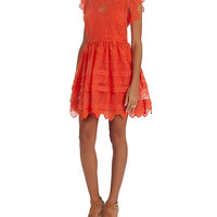 Marissa Webb Kallisti Lace Mini Dress at INTERMIX | Shop Now | Shop IntermixOnline.com