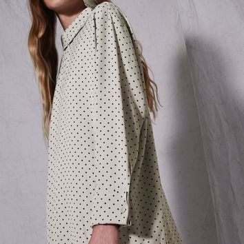 **Spot Fold Neck Shift Dress by Boutique | Topshop