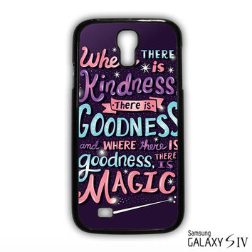 have courage and be kind cinderella for Samsung Galaxy S3/4/5/6/6 Edge/6 Edge Plus phonecases