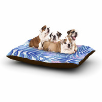 "Marta Olga Klara ""Hawaiian Pattern"" Blue Lavender Dog Bed"