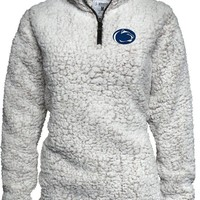 Penn State Womens Sherpa Quarter Zip Nittany Lions (PSU) 4510T