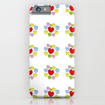 heart 3-heart,love,romantism,girl,sweet, women,romantic,cute,beauty,multicolor iPhone & iPod Case by oldking