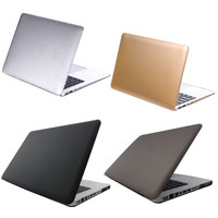 NI5L Rubberized Cool Frosted Surface Hard Case Cover for Macbook Air 11 Laptop Shell  A1370  A1465  Laptop Case Cutout Logo