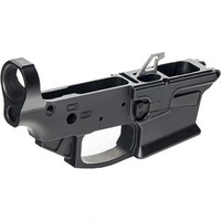 KE Arms KE-9 AR-15 Stripped Lower Receiver 9mm Luger Accepts GLOCK Magazines Billet Aluminum Matte Black - 1-50-01-062 - 2-KEA1-50-01-062