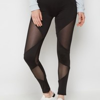 Mesh Inset High Rise Legging | Leggings | rue21