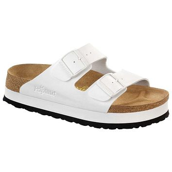 Birkenstock Arizona Birko Flor White 364053 Sandals