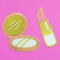 Compact & Lipstick Patch Set