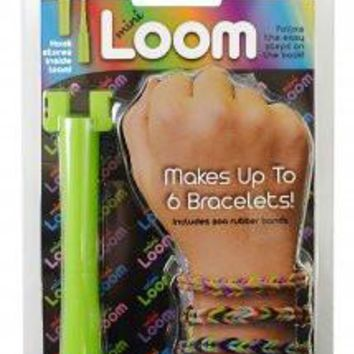 Mini Loom (Makes Rainbow Fishtail Rubber Band Bracelets and fits in your pocket)