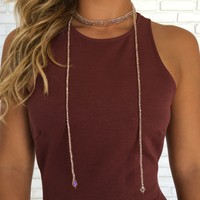 Sparkle On Choker Necklace