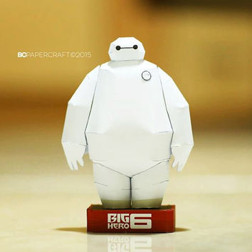 Big Hero 6  Baymax Robot Paper Model