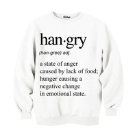Hangry Crew-neck Sweatshirt