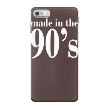 ladies made in the 90s iPhone 7 Case