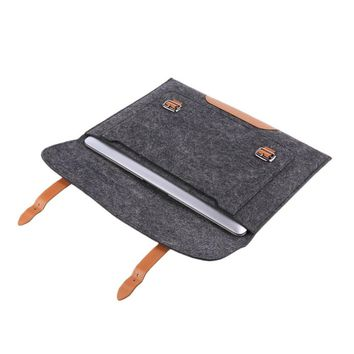 "OXA 13"" Woolen Felt Laptop Cover Case"