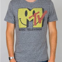 Junk Food Clothing - MTV Logo Tee - New Arrivals - Mens