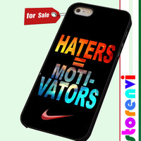 Nike Haters Motivation Nebula Galaxy custom case for smartphone case