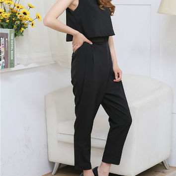 Jumpsuit - Black  = 4777454084
