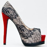 Buy Qupid TATUM-47 Platform High Heel Stiletto Sexy Lace Detail Party Pump at Best Buy Shop