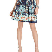 Tommy Hilfiger Skirt, A-Line Printed - Skirts - Women - Macy's