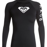 Whole Hearted Long Sleeve Rashguard 888701065265 | Roxy