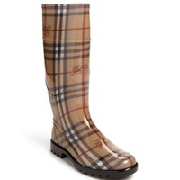 Women's Burberry Tall Rain Boot