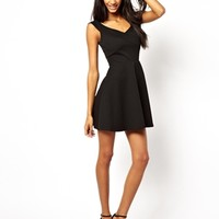 ASOS Ribbed Skater Dress