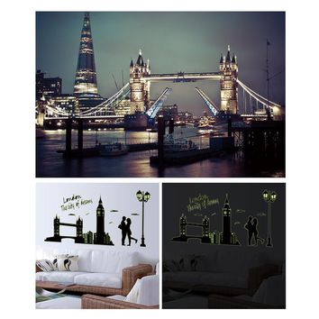 Wall Stickers Home Decoration Wall Poster Home Decor Luminous Sticker glow in the dark vinilos paredes