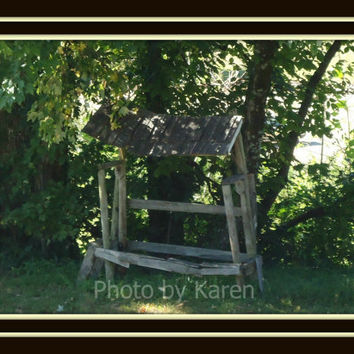 Bus Stop 5 x 7 Original Photograph other sizes by ClicksByKaren