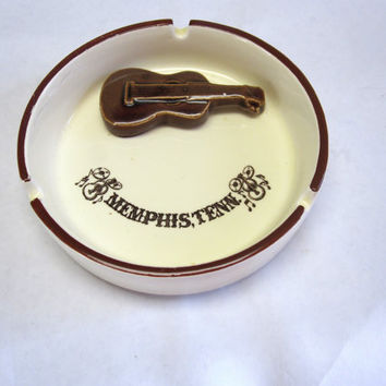 Souvenir Memphis Tennesse Ashtray Cigar Cigarette