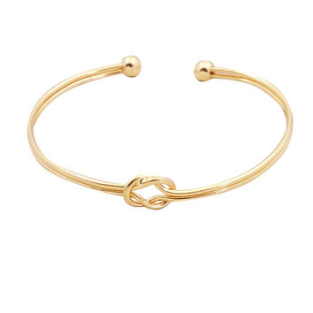 New fashion accessories jewelry golden cuff bangle for women girl nice gift B3345