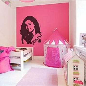 ARIANA GRANDE WALL DECAL ~ 12X16