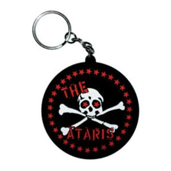 Ataris Rubber Key Chain Black