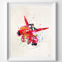 Baymax and Hiro, Big Hero Print - Artwork Print | Inkist Prints | Inkist Prints