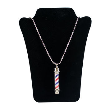 Necklace Barber Pole