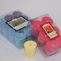12 Pack Soy Wax Votives