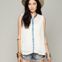 Free People Swing Lace Tank