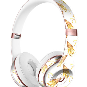 Free Falling French Fries Full-Body Skin Kit for the Beats by Dre Solo 3 Wireless Headphones