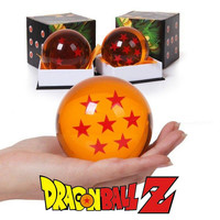 High quality 7.5CM have box set Dragon Ball Z Crystal Balls Action Figure Anime 1 2 3 4 5 6 7 star dragonball children kids toys