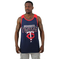 Minnesota Twins MLB Majestic Men's Tank Top Shirt