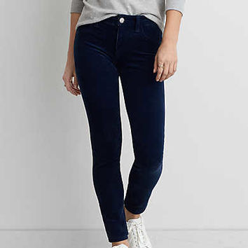 AEO Cord X4 Jegging , Midnight Blue