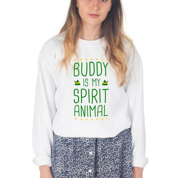 Buddy Is My Spirit Animal Christmas Sweater
